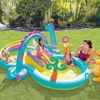Dinoland Paddling Pool Play Centre by Intex