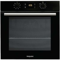 Electric Single Oven SA2540HBL by Hotpoint - Black