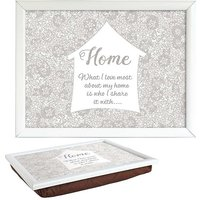 Home Lap Tray by Said with Sentiment