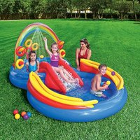 Inflatable Rainbow Ring Play Centre by Intex