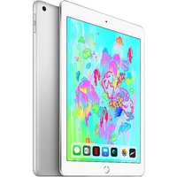 iPad (2018) Wi-Fi 128 GB by Apple - Silver