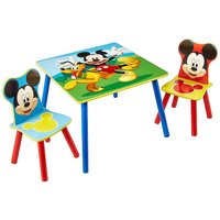 Mickey Mouse Table and 2 Chairs by Disney