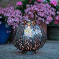 Moroccan Style Medium Lantern by La Hacienda