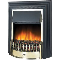 Optiflame Cheriton Black Electric Fire by Dimplex