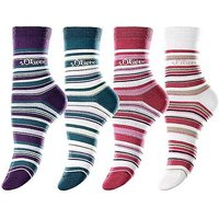 Pack of 4 Socks by s.Oliver