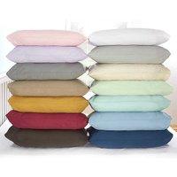 Plain Dye Bed Sheets & Pillowcases by Vantona