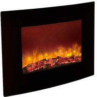 Quattro Black Wall Fire By Be Modern