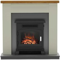 Ravensdale Stone Electric Fire Suite By Be Modern