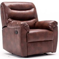 Regency Faux Leather Recliner Chair