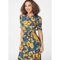 Retro Mini Bluetooth DAB/DAB+ Radio by VQ - Blue