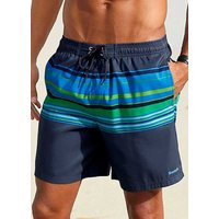 Stripe Swimming Shorts by Bench