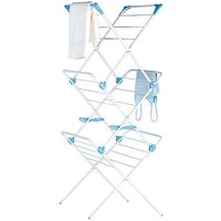White Indoor 3 Tier Airer by Minky