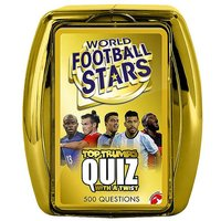 World Football Stars Quiz Game by Top Trumps