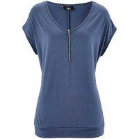 Zip Collar T-Shirt