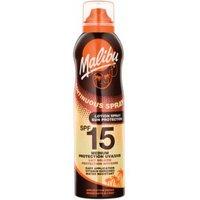 Malibu Continuous Sun Lotion Spray SPF15 175 ml