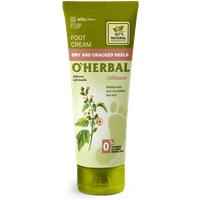 'O'herbal Althaea Dry & Cracked Heels Foot Cream 75 Ml