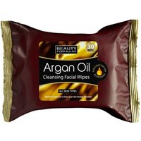 'Beauty Formulas Argan Oil Cleansing Wipes 30 Pcs
