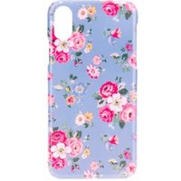 BasicsMobile Floral Baby Blue iPhone X/XS Cover iPhone X/XS