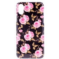 BasicsMobile Rose By Night iPhone X/XS Cover iPhone X/XS