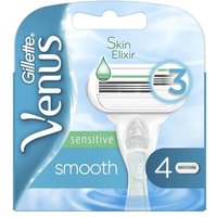'Gillette Venus Smooth Sensitive Razor Blades 4 Pcs