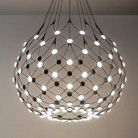 Luceplan Mesh hanging light   80 cm wireless 2 m