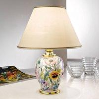 Giardino Panse table lamp  floral print    25 cm