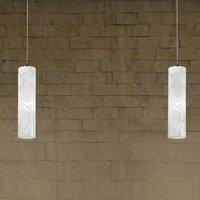 Fantastic hanging light Boheme  two bulb
