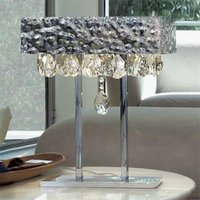MAGMA table lamp with crystal elements  clear