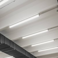 Siteco Monsun 41 LED batten light length 150cm 28W