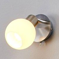 LED wall spotlight Elaina  matt nickel