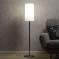 Height adjustable fabric floor lamp Verona