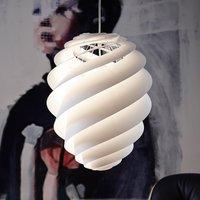 LE KLINT Swirl 2 medium  hanging light  white
