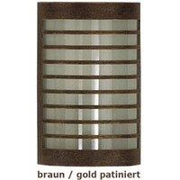 TERU   wall lamp brown gold patinated