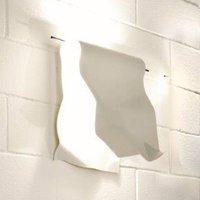 Knikerboker Stendimi white LED wall light 40 cm