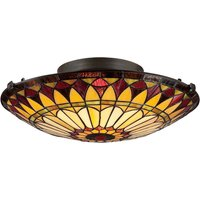 West End ceiling light in a Tiffany design
