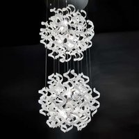 Unconventional hanging light White