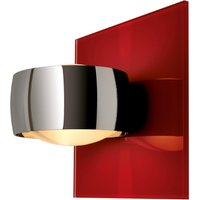 Decorative wall light GRACE UNLIMITED red chrome