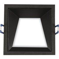 Image of Einbaulampe Kris Rahmen 3000K asymmetrisch schwarz