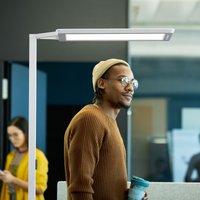 Yara single LED floor lamp 4 000 K  BT  PIR  white