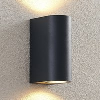ELC Fijona LED outdoor wall lamp  round  15 cm