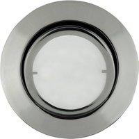 Round LED recessed light Joanie  chrome