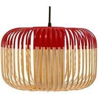Forestier Bamboo Light S pendant lamp 35 cm red