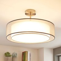 Pikka LED ceiling lamp  3 dimmable levels  grey