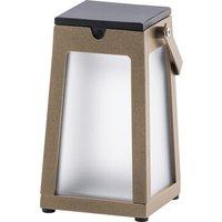 Tinka LED solar lantern portable  nutmeg