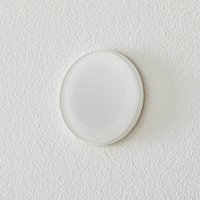 BEGA Accenta wall lamp round ring white 315 lm