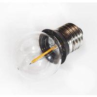 E27 0 9 W golf ball COB LED bulb with sealing ring