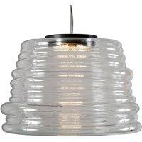 Karman Bibendum LED hanging light    35 cm  clear