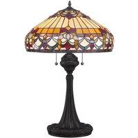 Table lamp Belle Fleur in a Tiffany design