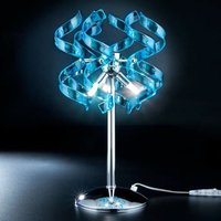 Fascinating table lamp Blue
