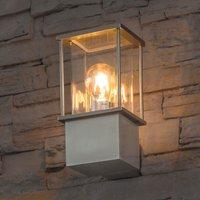 Edelstahl-Wandlampe Rhodos
